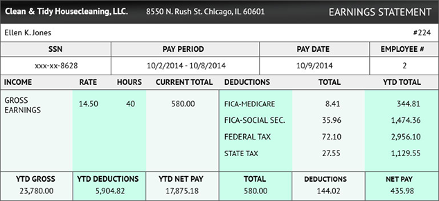 create payroll checks